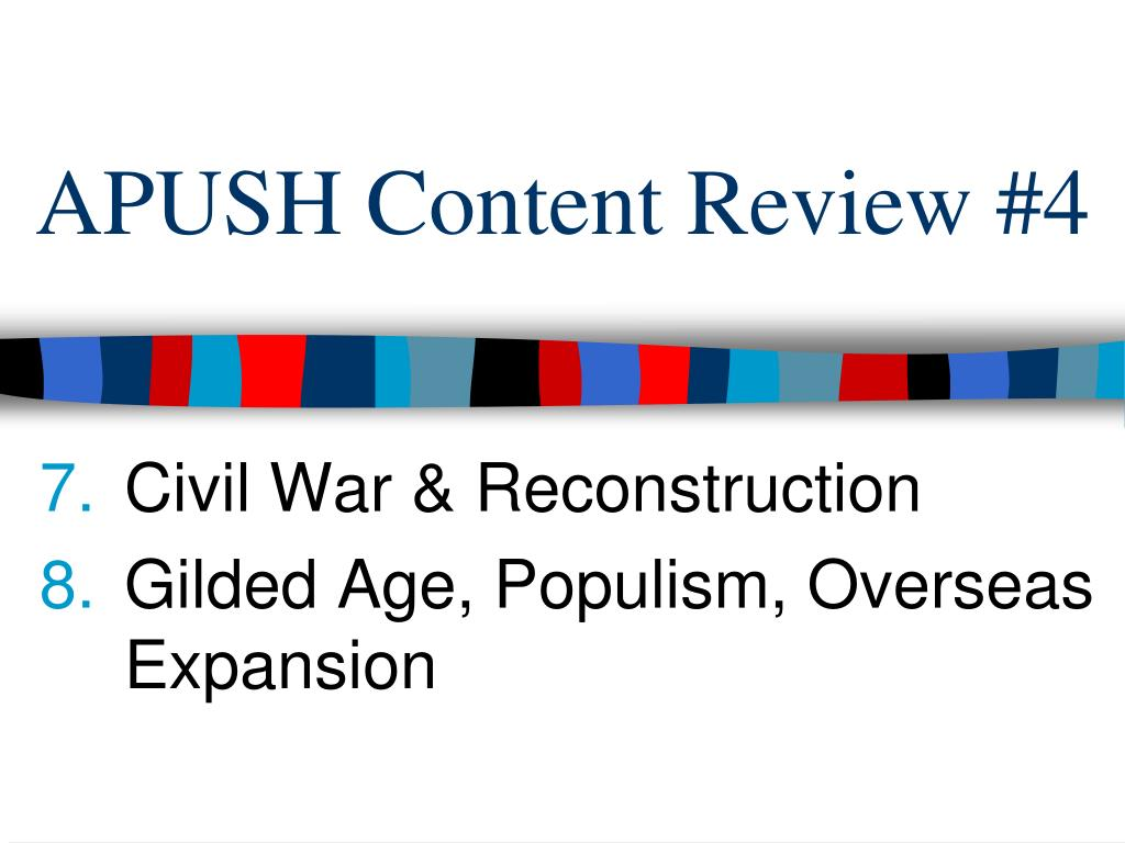 Ppt Apush Content Review 4 Powerpoint Presentation Free