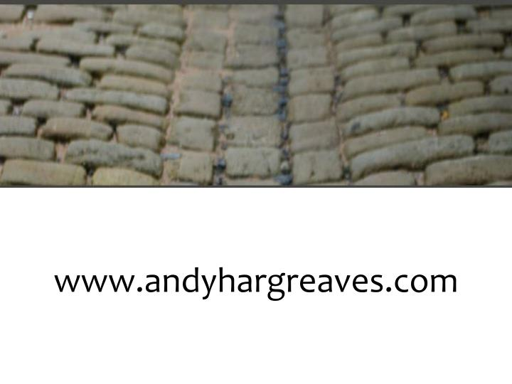 Www.andyhargreaves.com