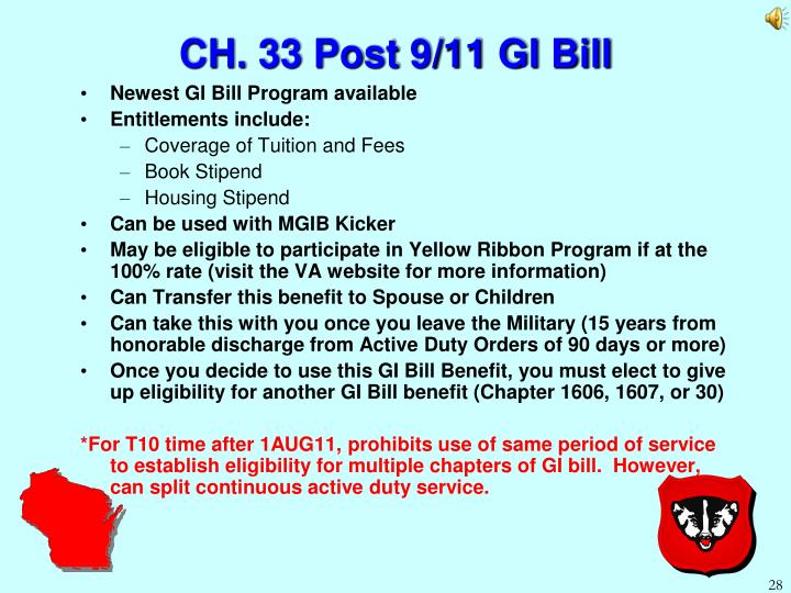 GI Bill, Montgomery and Post 9/11 GI Bills   Military.com
