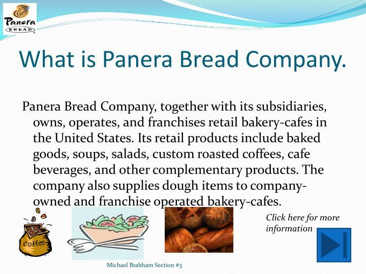 paner bread external analysis A case study on panera bread  carries through to our external  4   analysishtml.