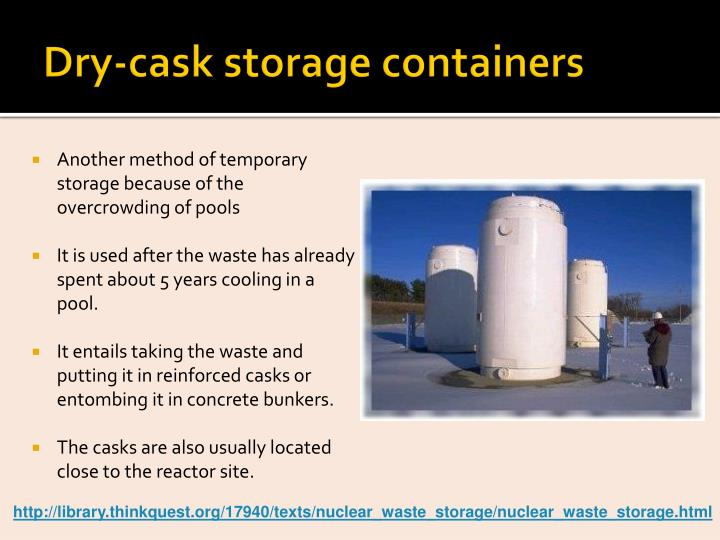 Dry-cask storage containers