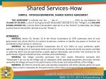 shared services how3
