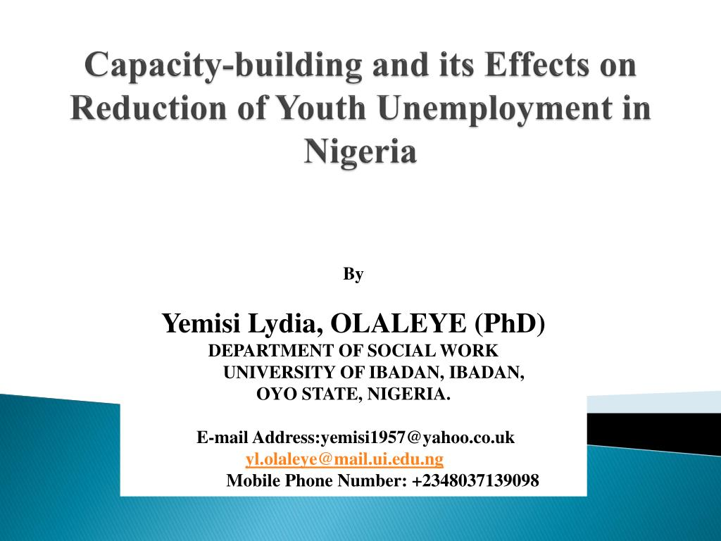 social effects of unemployment