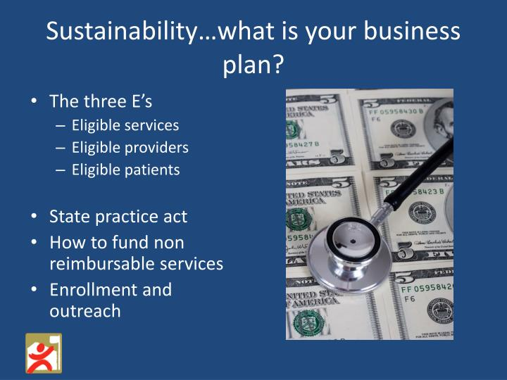 Sustainability…what is your business plan?