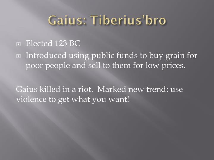 Gaius: