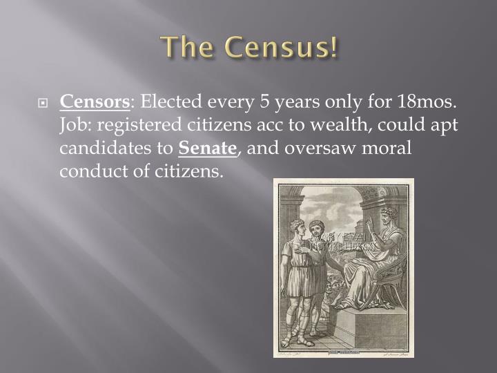 The Census!