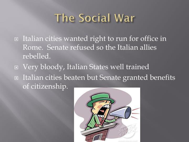 The Social War