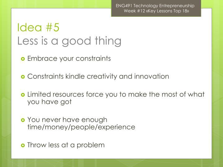 ENG491 Technology Entrepreneurship