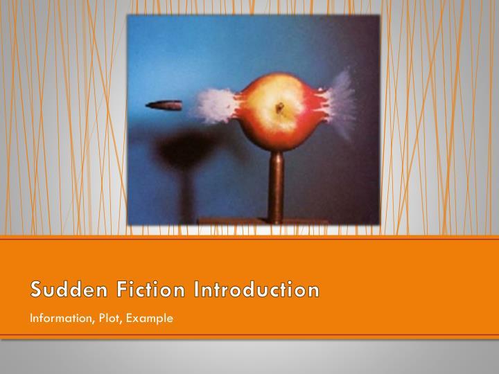 Sudden Fiction Introduction