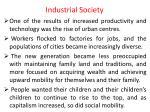 industrial society1