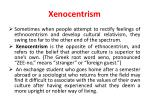 xenocentrism