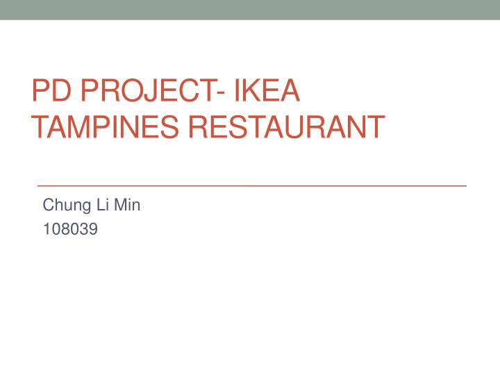pd project ikea tampines restaurant n.