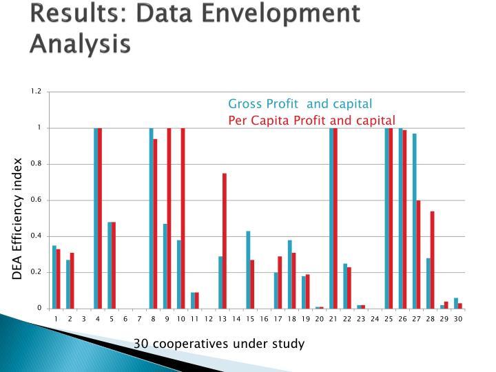 Results: Data Envelopment Analysis