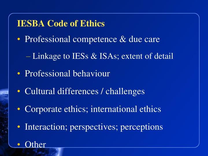 IESBA Code of Ethics