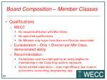 board composition member classes2