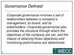 governance defined