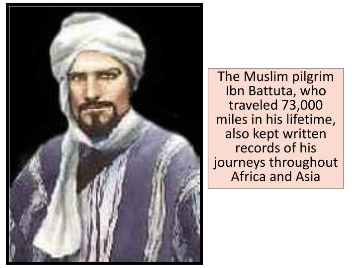 The Muslim pilgrim