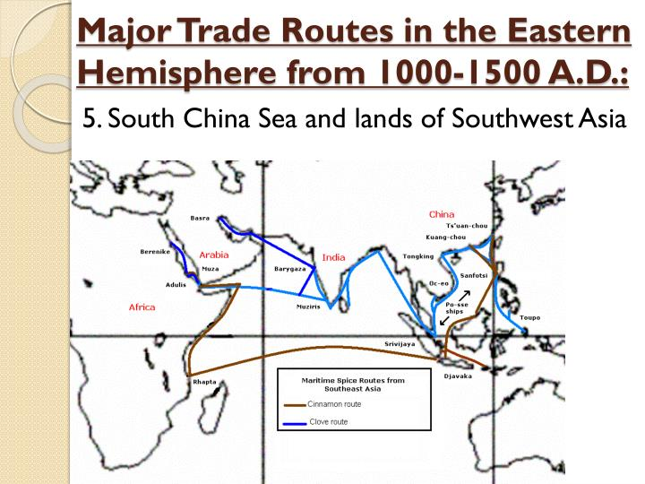 a history of the long distance trade between china europe and the middle east The spice trade refers to the trade between historical civilizations in asia the republic of venice and neighboring maritime republics held the monopoly of european trade with the middle east the silk and spice trade which since 1512, through a long network of routes that linked.