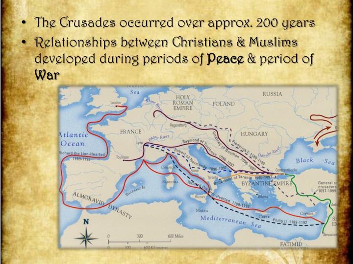 the crusades a war between christians