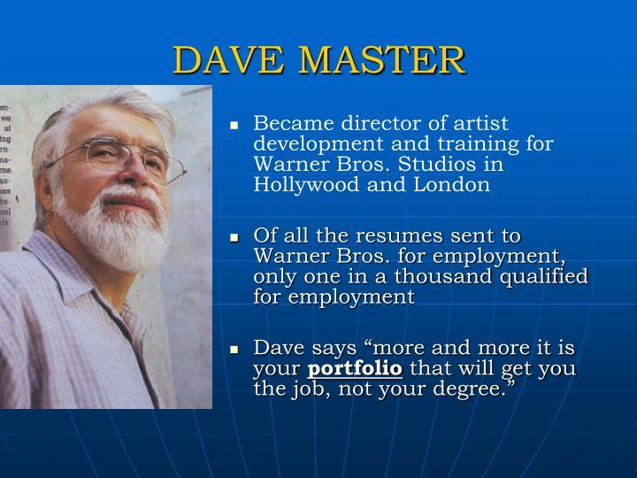 DAVE MASTER