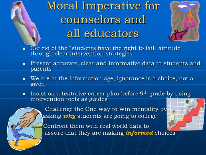 Moral Imperative for