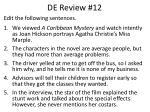 de review 12