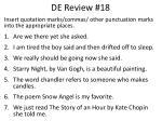de review 18