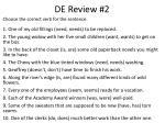 de review 2