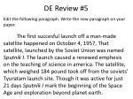 de review 5