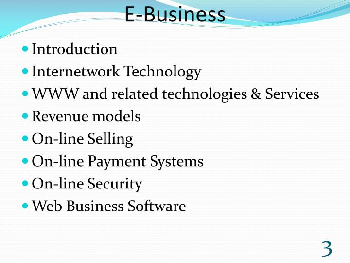 E business1