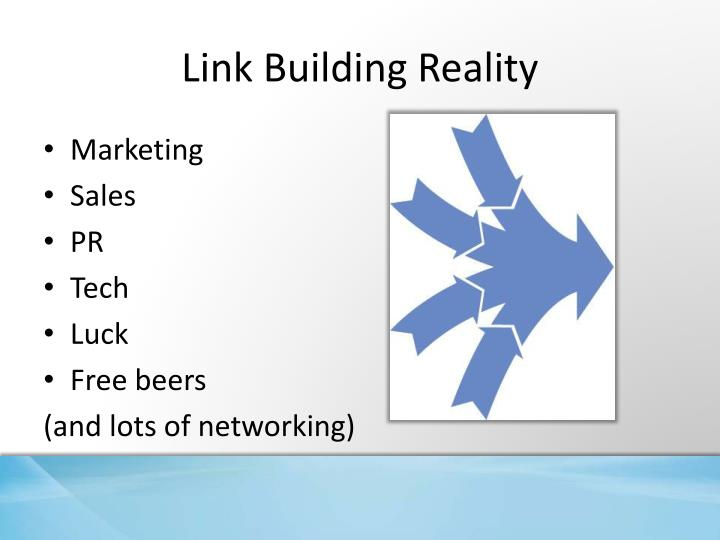 Link building reality