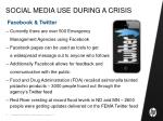 social media use during a crisis5