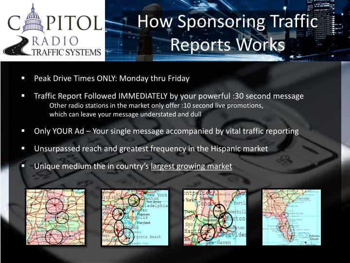 How Sponsoring Traffic Reports Works