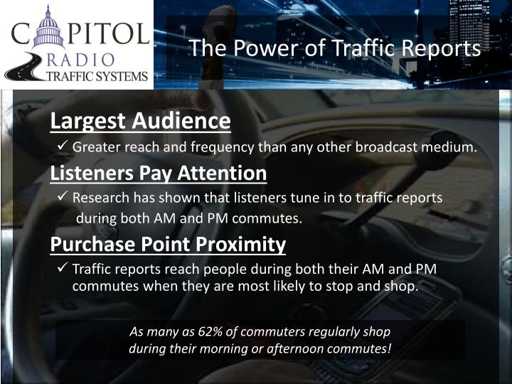 The Power of Traffic Reports
