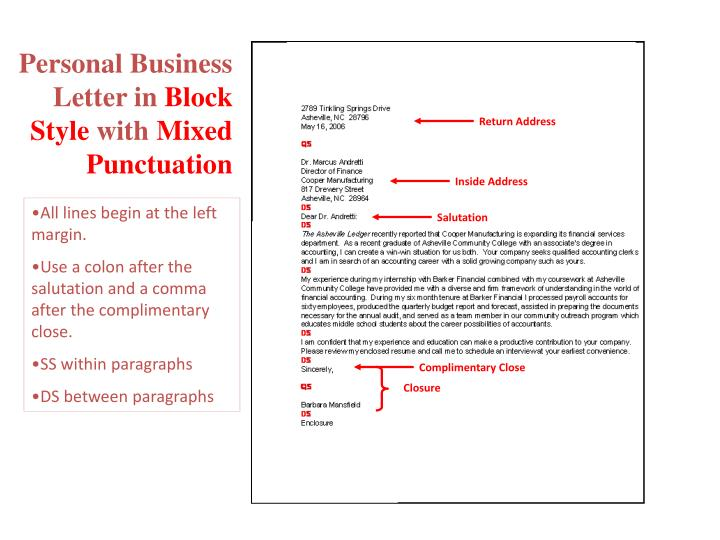 PPT Business Letters PowerPoint Presentation ID 1630479