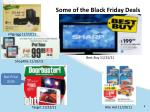 some of the black friday deals