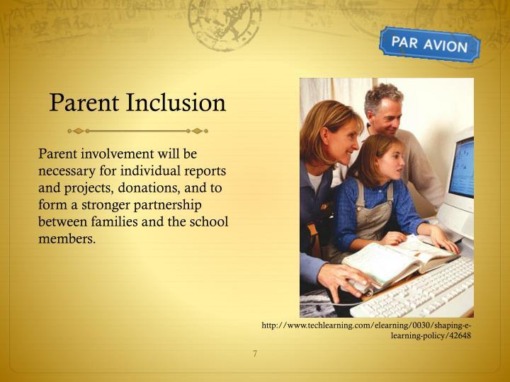 Parent Inclusion
