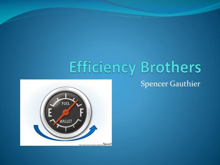 efficiency brothers n.