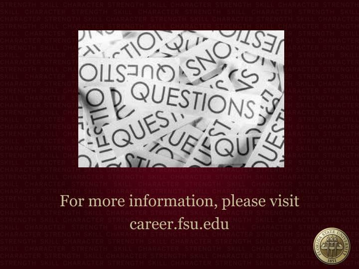 For more information, please visit