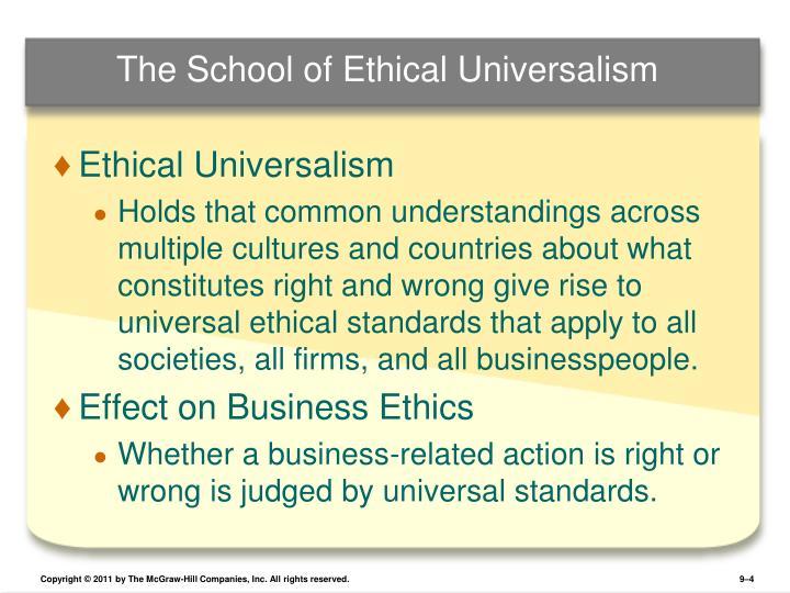 moral universalism