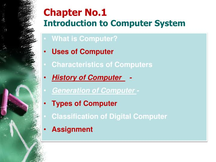 history and generation of computer assignment