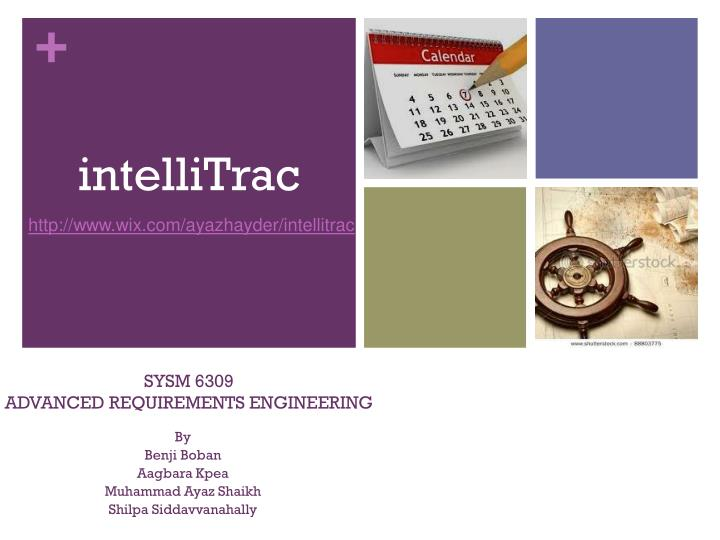sysm 6309 advanced requirements engineering n.
