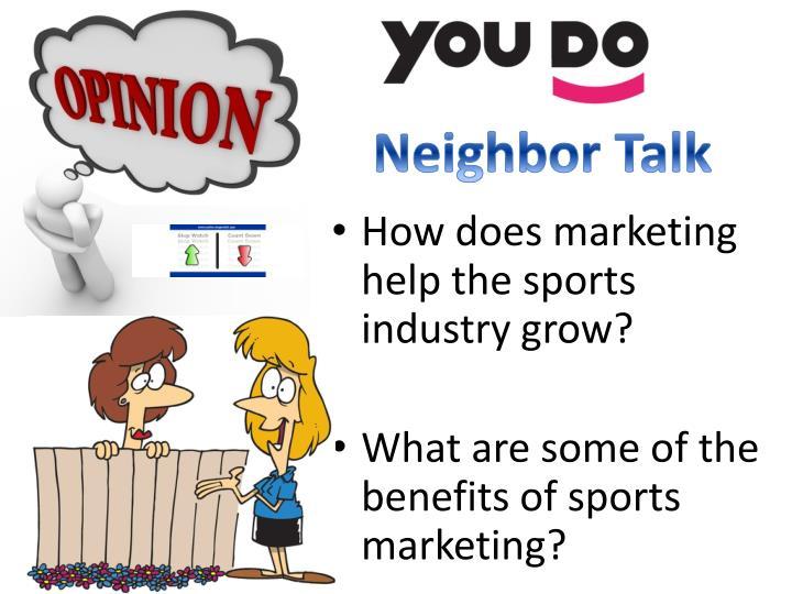 Neighbor Talk