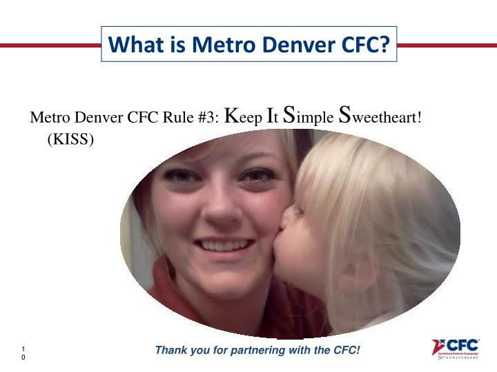 Metro Denver CFC Rule #3: