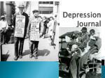 depression journal