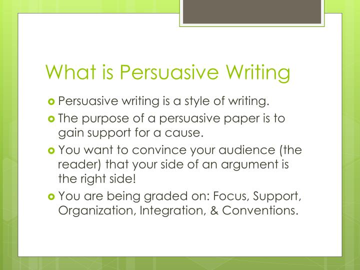 what is persuasive writing in criminal justice Writing in criminal justice isn't only a matter of issuing tickets and checking the boxes on a pre-printed citation form during the course of your career, you'll be called upon to write a number of different types of communication , including: reports and narratives when responding to criminal (or suspected.