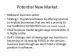 potential new market