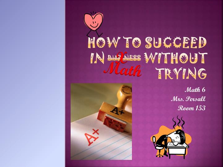 how to succeed in business without trying n.
