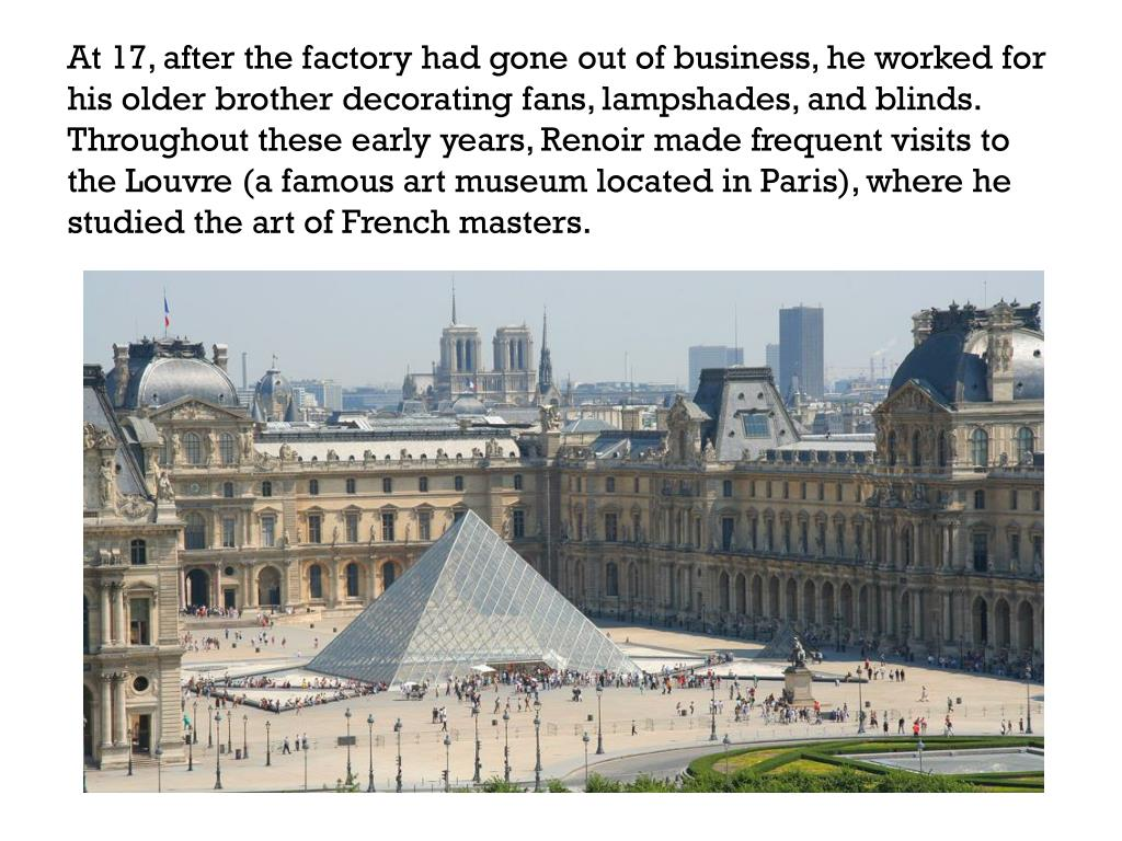 PPT - Pierre Auguste Renoir PowerPoint Presentation, free ...