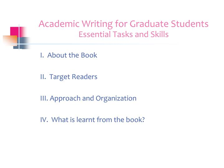 Swales Academic Writing for Graduate Students  nd Ed pdf Academic Writing for Graduate Students  Essential Tasks and Skills   Michigan Series in English for Academic   Professional Purposes    Amazon co uk  John